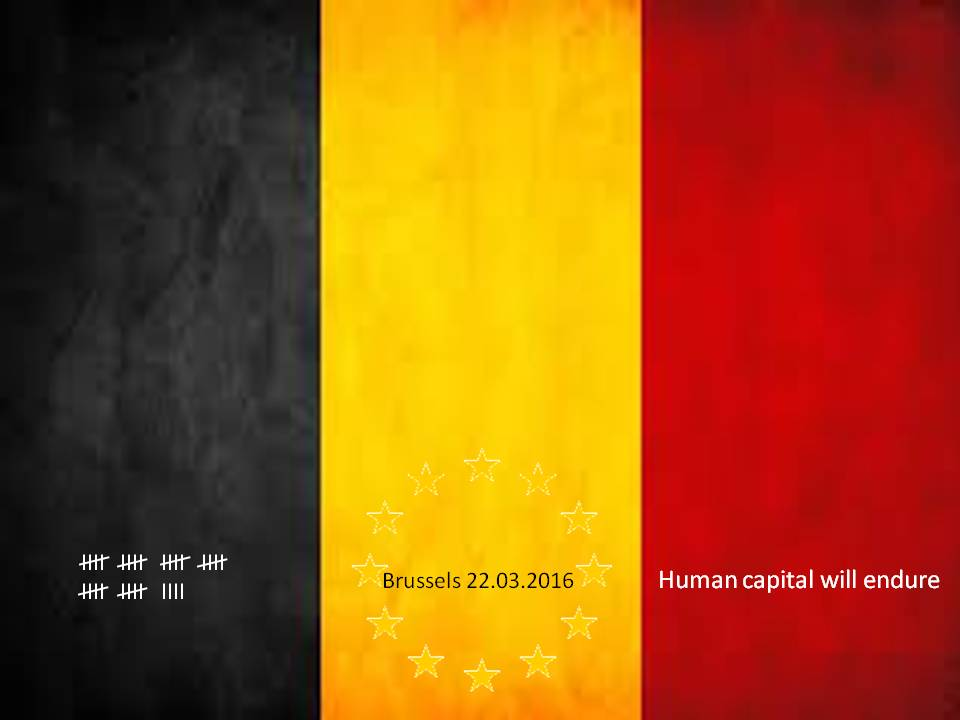 http://bimac.fi / NIC on the week / Tribute to victims 22.03.2016: Human capital will endure